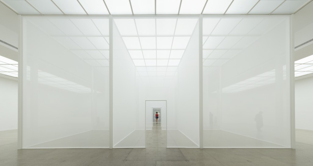 "ROBERT IRWIN: ""DOUBLE BLIND"", at the Vienna Secession, Vienna, Austria 2013"