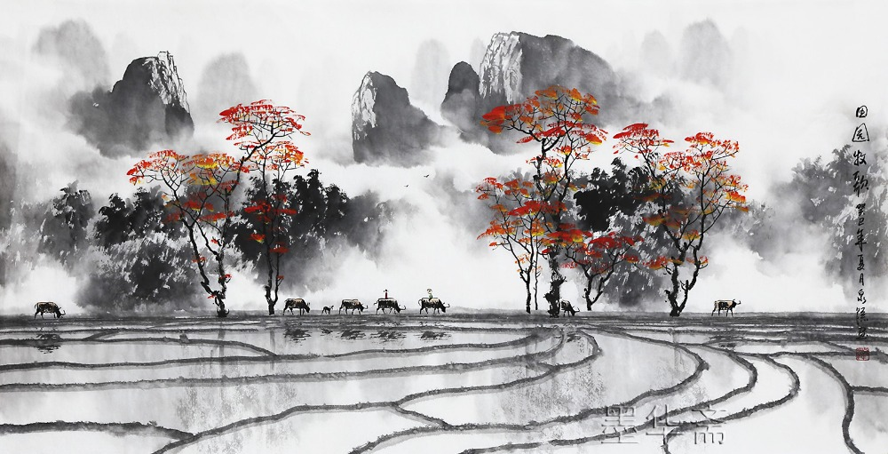 famous-watercolor-painting-artist-zhang-quanzong-traditional-chinese-landscape-calligraphy-paintings-wall-decoration-living-room